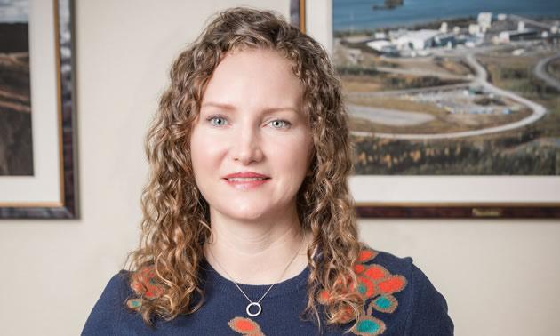 A photo of Lisa Wade, vice-president of environment at Goldcorp Inc.
