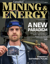 Canadian Mining & Energy Fall 2016 cover