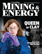 Canadian Mining & Energy Fall 2017 magazine cover