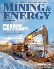 Canadian Mining & Energy Fall 2018 magazine cover