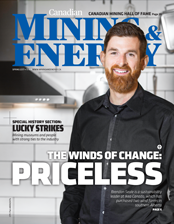 Canadian Mining & Energy Spring 2017 magazine cover