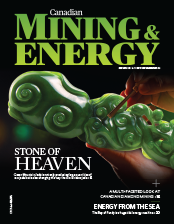 Canadian Mining & Energy Summer 2016 cover