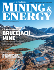 Canadian Mining & Energy Summer 2017 magazine cover