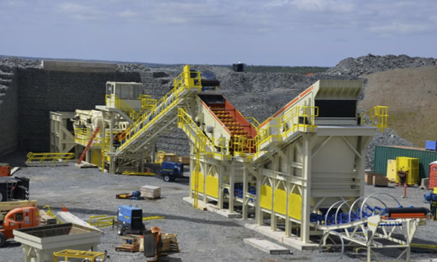 Moose River Consolidated Mine, one of Canada's next open pit gold mines.