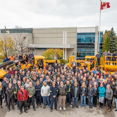 Group shot of MacLean Engineering employees.