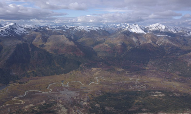 The Macmillan Pass Zinc Project in Yukon, Canada.
