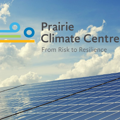 Logo for the Prairie Climate Centre.
