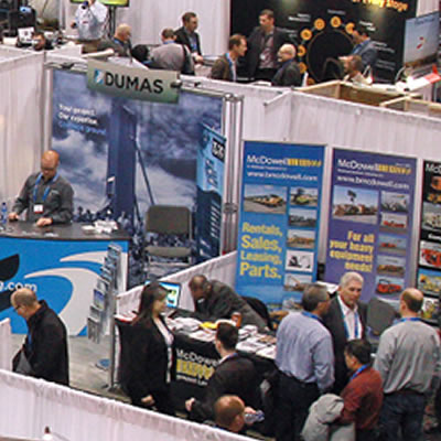 An overview of attendees at the PDAC Convention in Toronto.