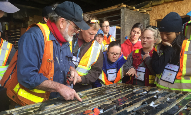 Mentoring plays a key role to the success found in the mining and exploration industries. Many of the industry's greatest were guided by their own mentors at some point. The members of PDAC hope to guide the next generation of geoscientists.