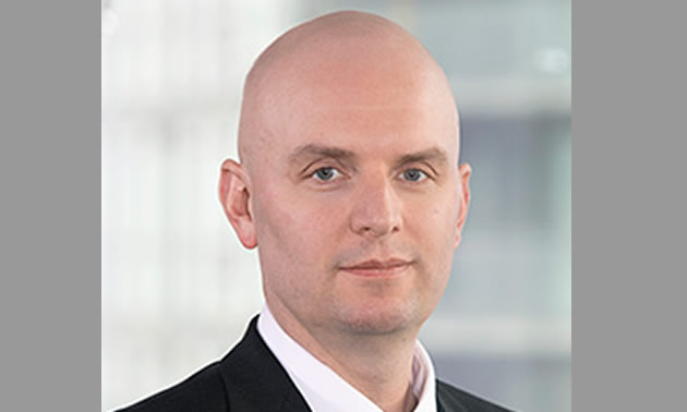 Paul Tomory, new Executive Vice-President and Chief Technical Officer for Kinross Gold Corporation.