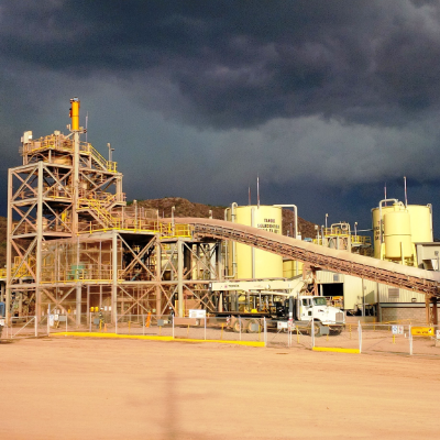 Premier's Mercedes mine, located in Mexico, is an example of a successful process.