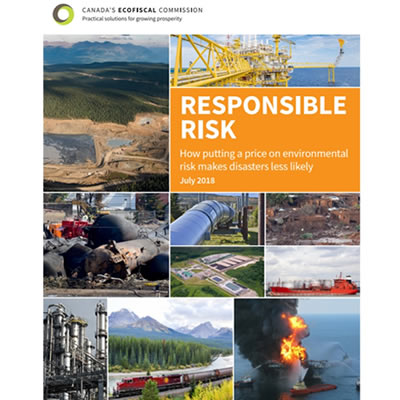 Cover of report recently released by Canada's Ecofiscal Commission.