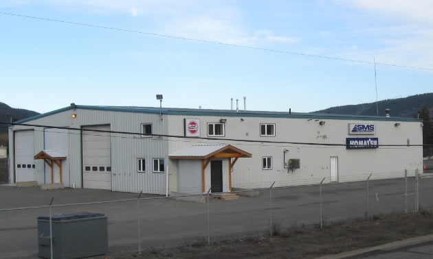 SMS Equipment building.