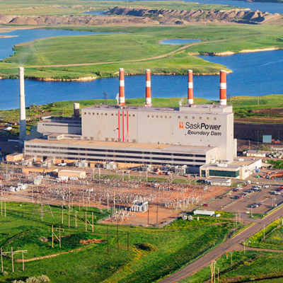 The new Chinook Power Station with add to SaskPower's power grid which the Boundary Dam Power Station (pictured) currently contributes to