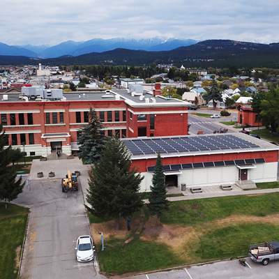 Ktunaxa Nation in Cranbrook, BC. engaged SkyFire Energy for their solar project.