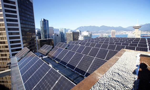 Telus' rooftop installation optimises land use.