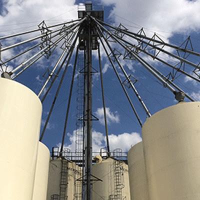 One of Source Energy's terminals near Eckville, Alberta.