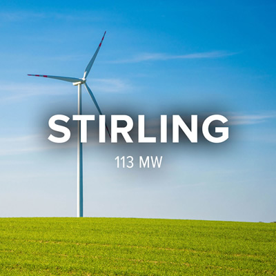 Stirling Wind logo.