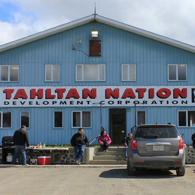 Photo of the office of the Tahltan Development Corporation.