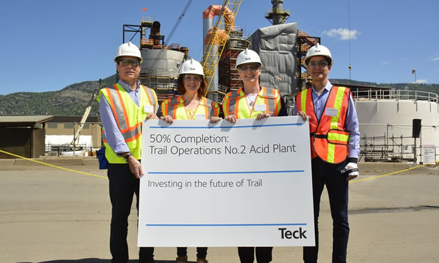 Teck Trail's new state-of-the-art acid plant | Mining & Energy