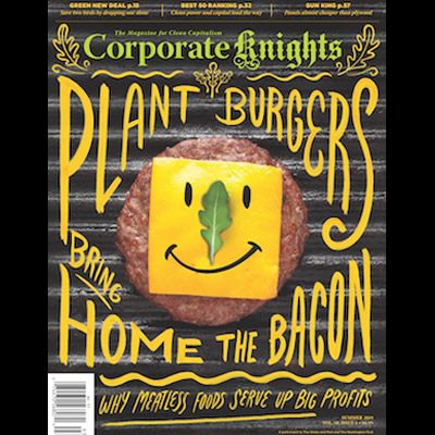 Cover of Summer issue of Corporate Knights.