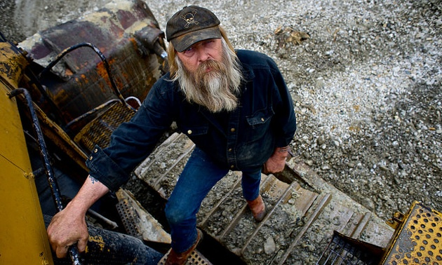 Tony Beets, Yukon gold miner and one of the stars of Gold Rush.