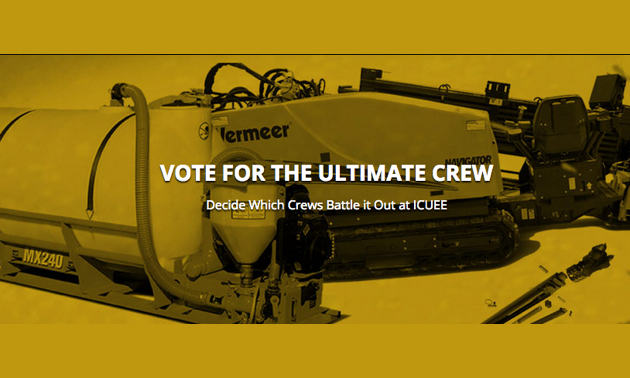 Vote for the ultimate crew web page.