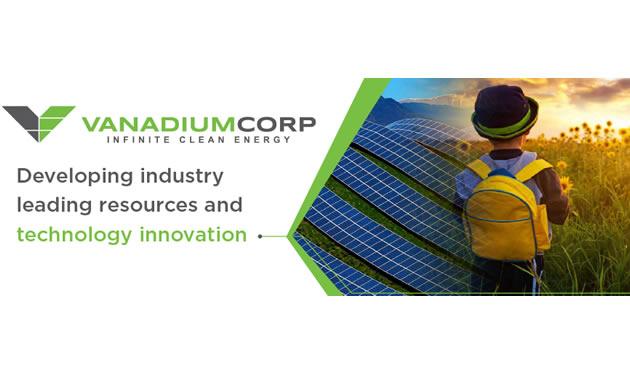 VanadiumCorp Resource Inc. logo.