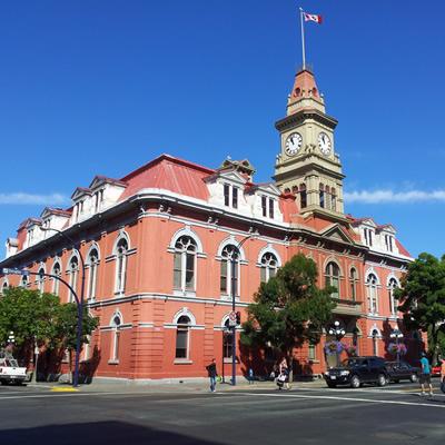 Victoria, B.C. City Hall.