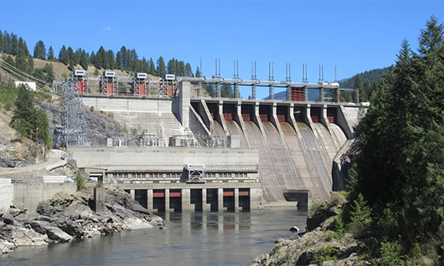 Trail Mayor Mike Martin Speaks To Waneta Dam S Mining