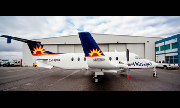 Picture of Wasaya Airlines plane.