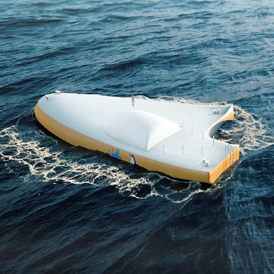 Wello, the leading company in ocean-wave conversion, utilizes its technology in the form of a device called WEC2 - the Penguin.