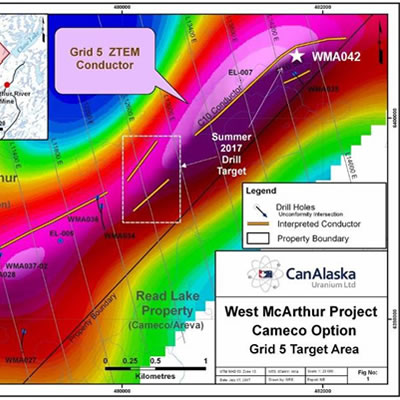 Graphic of West McArthur Project.