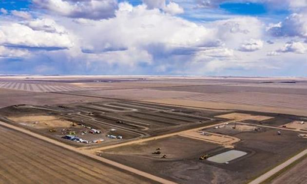 Milestone Phase 1 Potash Project mine site.