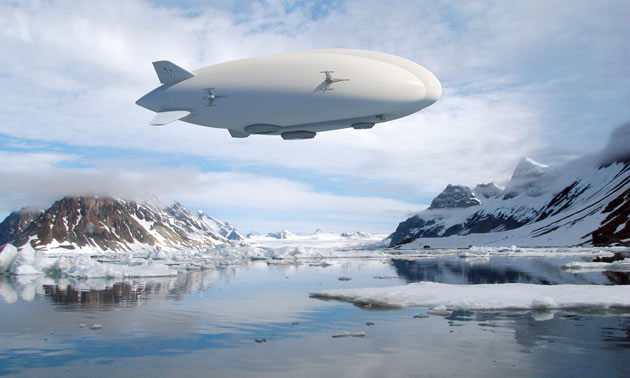 Quest Rare Minerals looks to the sky for efficient and environmentally friendly solutions to their mine transport problems: Lockheed Martin's airships with capacities of 20 tons.