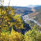 Historical mining activity at the Bellekeno Mine area