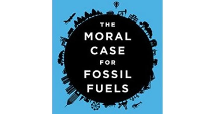 Picture of book cover, The Moral Case for Fossil Fuels.