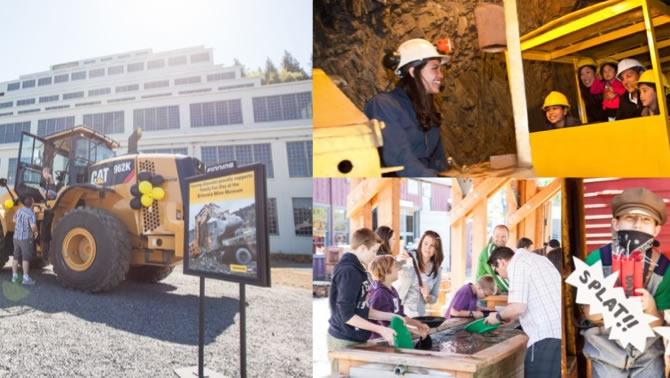 Family Fun Day at Britannia Mine Museum.