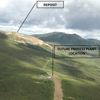 Site of the proposed Casino Copper Mine in Yukon