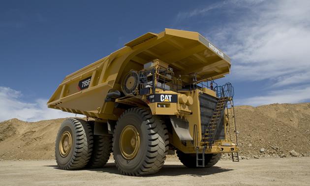 Caterpillar Natural Gas Truck Engines