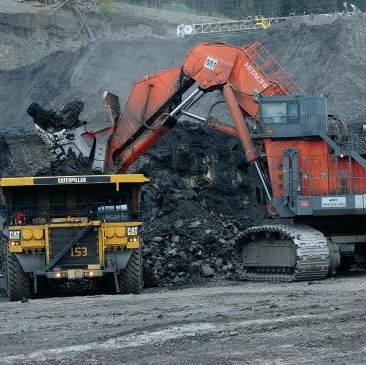 Conuma Coal trucks and equipment.