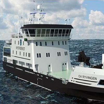 Multi-purpose hybrid ship.