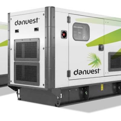 Solar-diesel hybrid power plant.