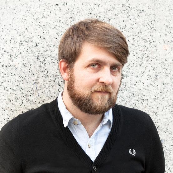 A headshot of David Lomax, senior associate at Waugh Thistleton Architects in the U.K.