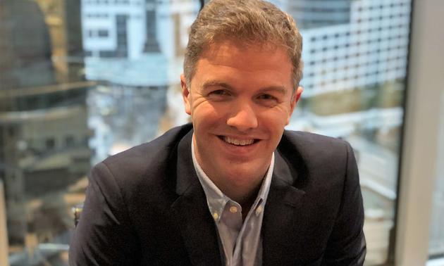 A portrait photo of Steve de Jong, the new CEO of VRify