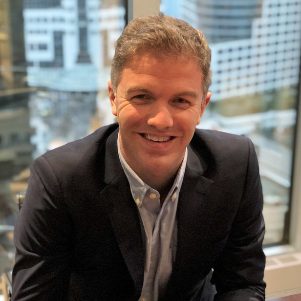 A portrait photo of Steve de Jong, the new CEO of VRify