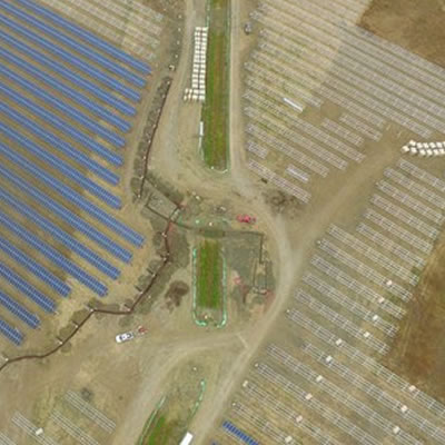 An overview of the Brooks Solar Project.
