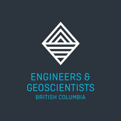 Logo for Engineers and Geoscientists British Columbia.