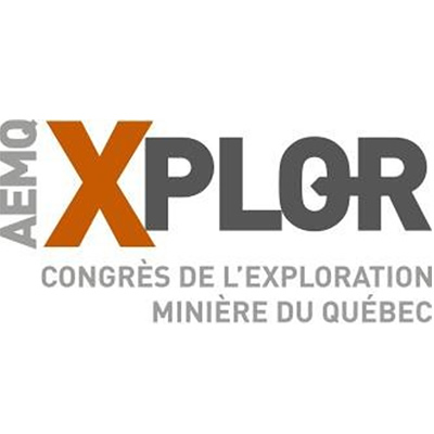 Logo of the QMEA - AEMQ Xplor congrès de l'exploration minière du Québec (CNW Group/Quebec Mineral Exploration Association (AEMQ))