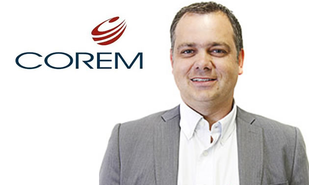 Mr. Francis Fournier, President and Chief Executive Officer at COREM.